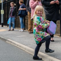 2020.07.13 Primrose Hill Girl with colourful jacket